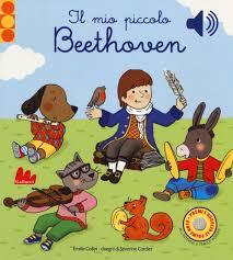 il mio piccolo beethoven libro cartonato per bambini